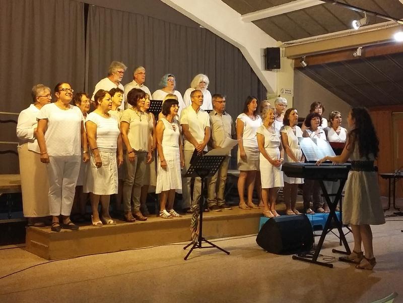 Concert de la Chorale Voix d'Argence à Jonquières Saint Vincent